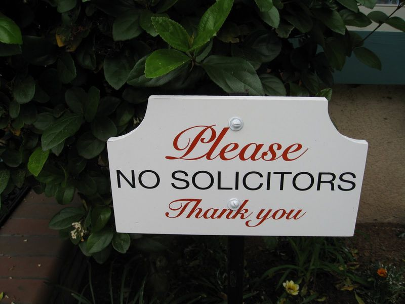 No_solicitors
