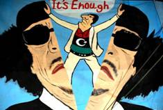 Gaddafi-enough