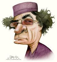 Gaddafi-caricature