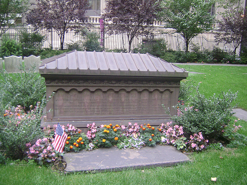 Gallatin tomb