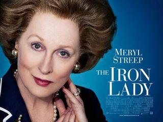 Iron-lady M. Streep poster