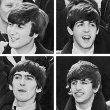Beatles foursome