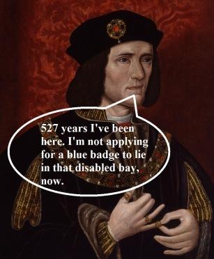 Richard blue badge