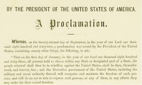 Emancipation proclamation 1