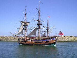 Cook - Endeavour (replica)