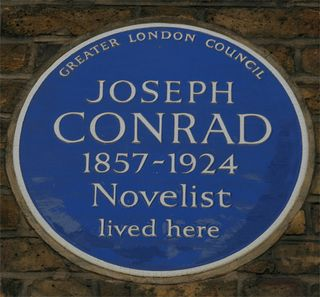 Conrad london plaque
