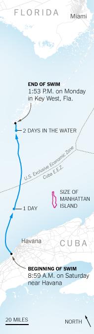 Nyad - map