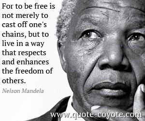 Mandela bons mots