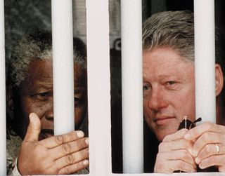 Mandela and clinton