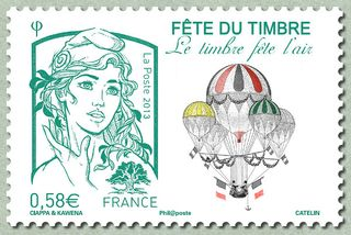 French stamp 2
