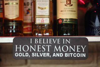 Bitcoin slogan