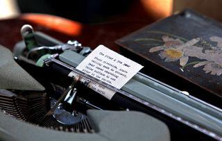 JS typewriter & poem