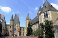 A chateau des Stuyarts et hotel de ville, Aubigny-sure-Nere (Cher)
