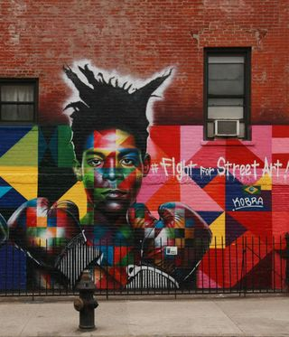 Basquiat - Fight for Street Art