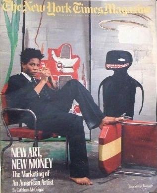 Basquiat - NY Times Magazine