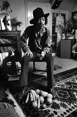 Hendrix (black & white)