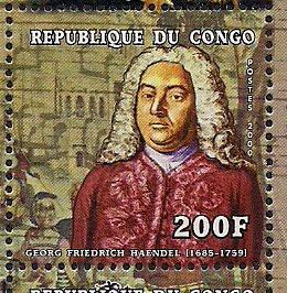 Handel stamp congo