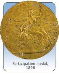 Modern olypics coins