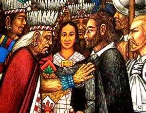Malinche 3 figures