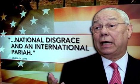 Powell - disgrace
