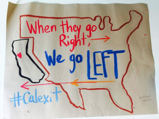 Calexit left right