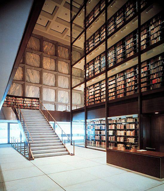 USA library Yale