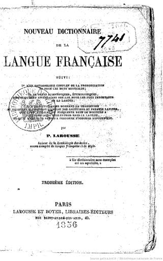 Larousse Nouveau_dictionnaire