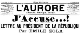 Dreyfus J'Accuse
