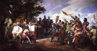Bataille de Bouvines, par Horace VERNET