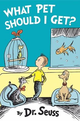 Seuss what pet should I get