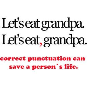 Comma grandpa