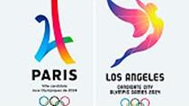Paris LA logos