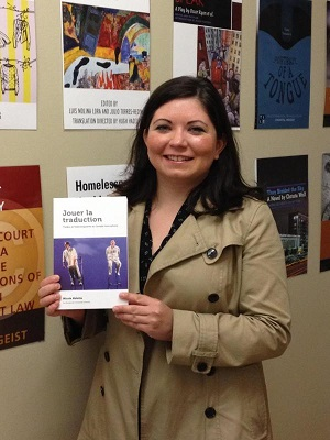 Nolette with book