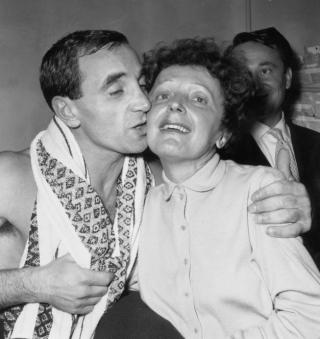 Aznavour Piaf