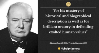 Churchill nobel