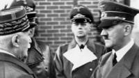 Petain Hitler