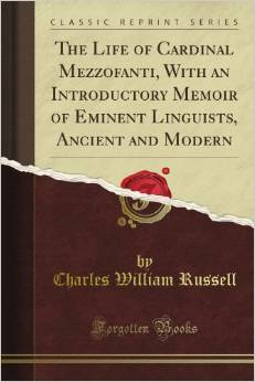 Mezzofanti - book cover