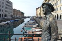 James Joyce Statue Trieste