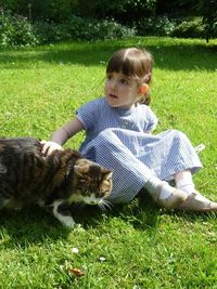 Juliette & chat