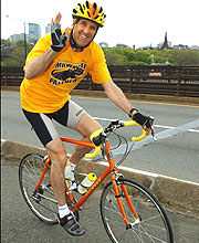 John Kerry bicycle