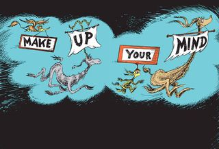 Seuss Make up mind