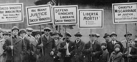 S & V protests