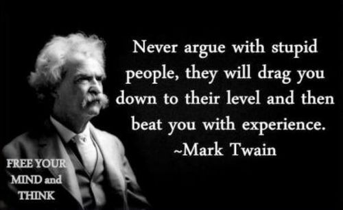 Mark Twain - stupid