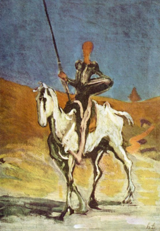 Donquijote by Honoré_Daumier