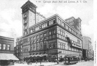 Carnegie hall 2