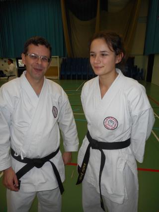 JeanMarc & Livia Dewaele (karate)