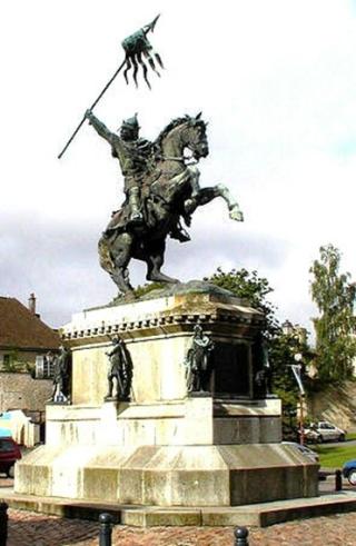 Tapisserie Statue