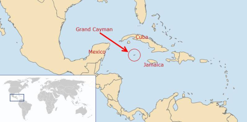 Cayman map
