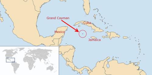 Cayman map