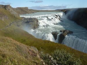 Reykjavik - chute de Gullfoss